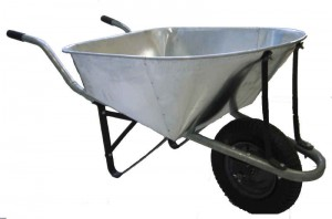 wheel barrow large
