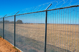 Atlas Steel 358 High Security Fencing