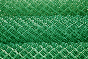 Chainmesh PVC Coated Closeup