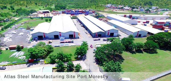 Atlas Steel Manufacturing Site Port Moresby
