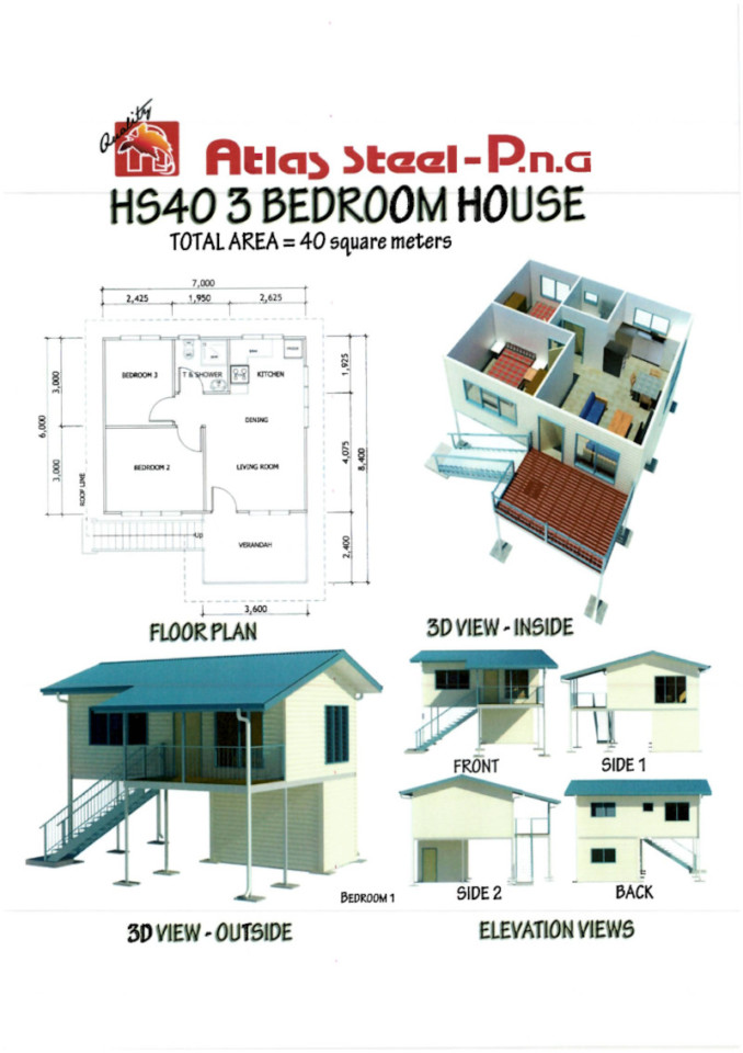 HS40 3 Bedroom House