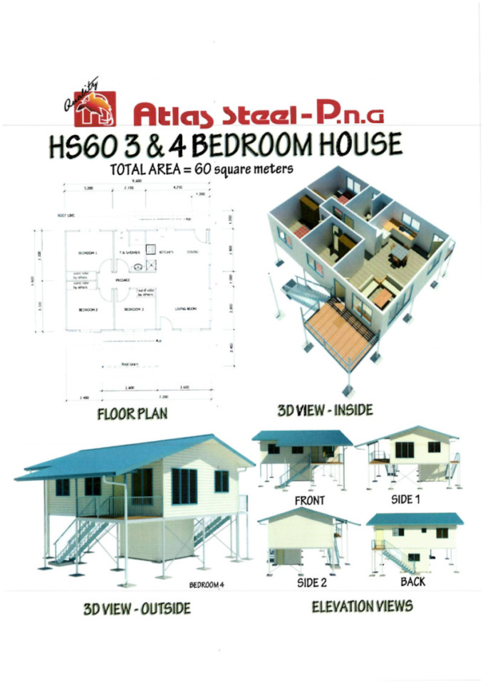 HS60 3&4 Bedroom House