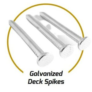 Galv. Deck Spikes