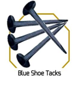 Blue Shoe Tacks