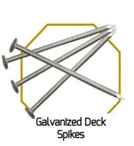 Galvanised Deck Spikes
