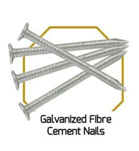 Galvanised Fibre Cement Nails