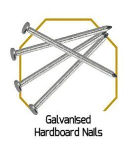 Galvanised Hardboard Nails