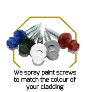 Screw Spray Painting