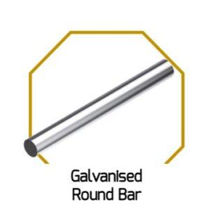 Galv. Round Bar