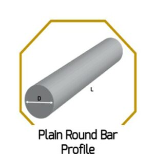 Plain Round Bar Profile