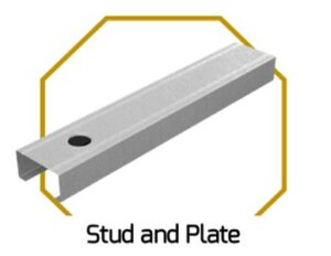 Stud and Plate