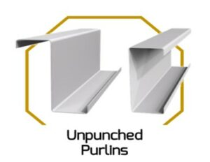 Unpunched Purlins
