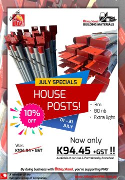 July'21 Specials - House Posts (Lae&Pom)